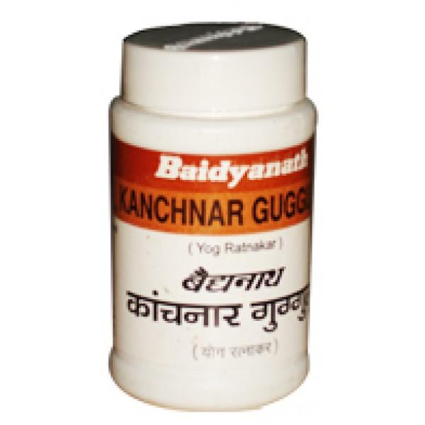 Канчанар Гуггулу (Kanchnar Guggulu, Baidyanath) 80 таб